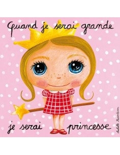 Tableau je serai princesse