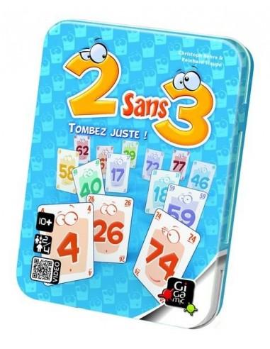 2 sans 3 - jeu gigamic
