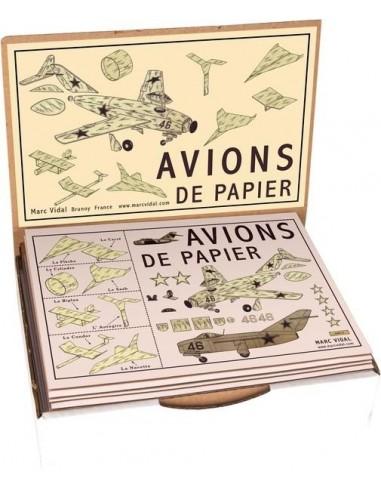 Avions de papier à plier - Marc Vidal