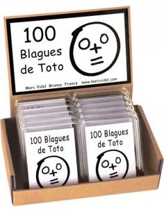 100 blagues de Toto - Marc...