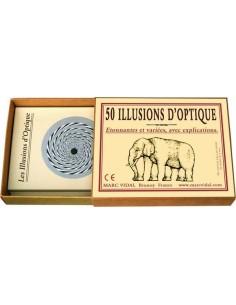 50 illusions d'optiques -...