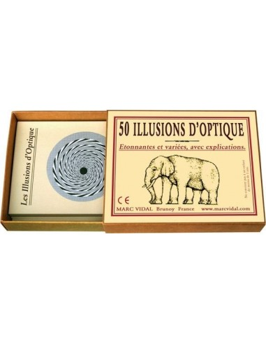 50 illusions d'optiques - Marc Vidal