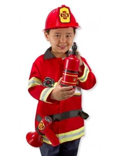Déguisement pompier -...