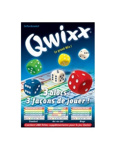 Recharge bloc de score Qwixx - gigamic