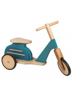 Scooter bleu