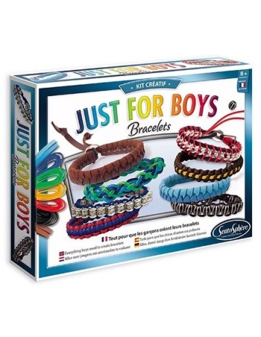Bracelets Just for boys - Sentosphère