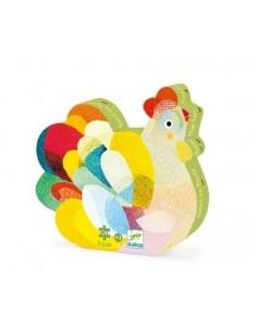 Puzzle Raoul ma poule - Djeco