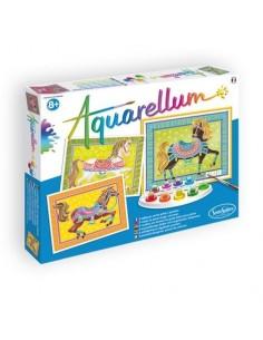 Aquarellum chevaux en...