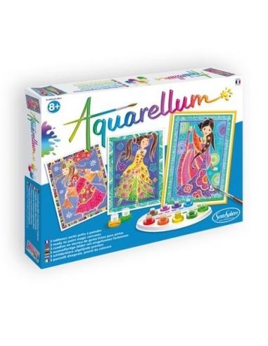 Aquarellum glamour girls - Sentosphère