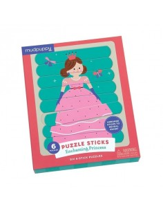 Puzzle sticks princesse
