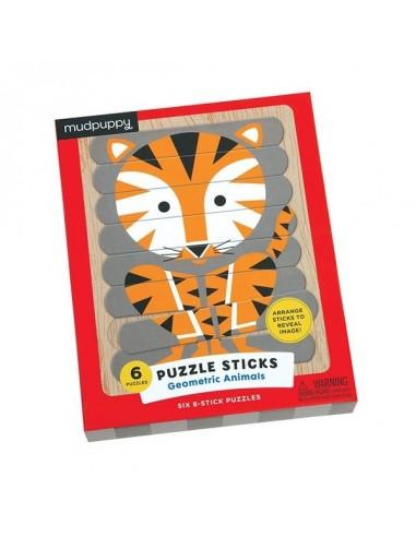 Puzzle sticks animaux