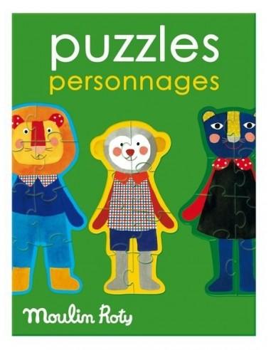 Puzzles personnages Les Popipop -...