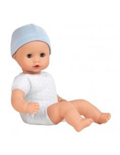 Poupée Muffin garçon sans cheveux 33 cm