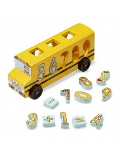 Autobus à formes - Melissa...