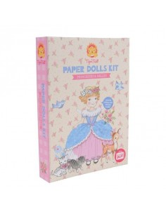 Paper doll princesses