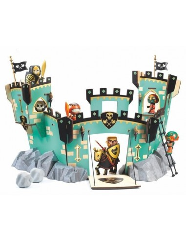 Castle on Ze Rock - Chateau Arty toys...