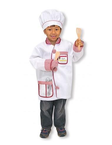 Déguisement chef de cuisine - Mélissa...