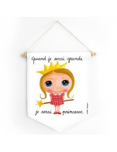 Bannière princesse - Quand...