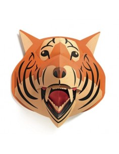 Trophée pop-up tigre orange