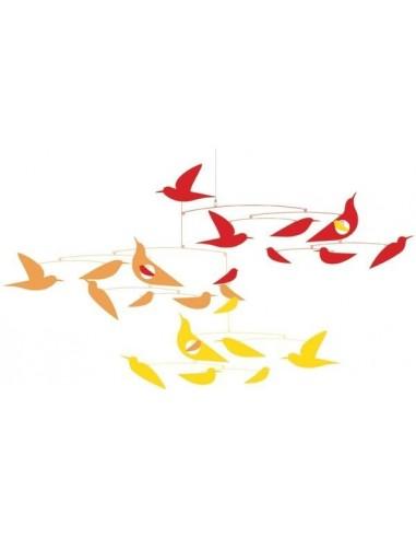 Mobile en papier Oiseaux en harmonie...
