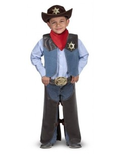 Déguisement cowboy -...