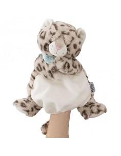 Doudou marionnette léopard...