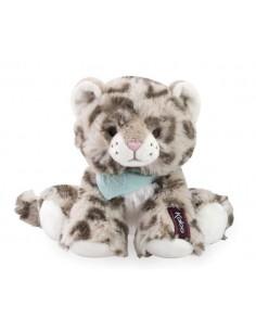 Peluche doudou léopard 25 cm