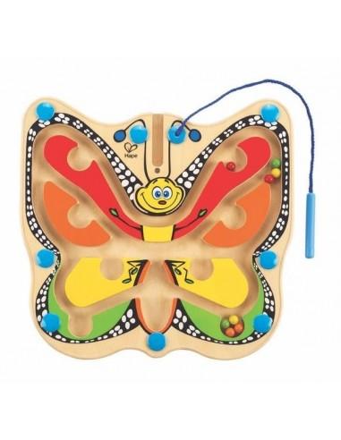 Labyrinthe magnétique papillon - Hape