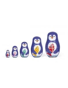 Pingoo family poupées...