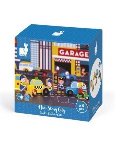 Mini story garage city - Janod