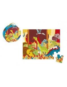 Puzzle dinosaures 24 pièces...