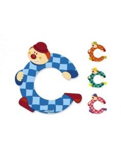 Lettre Bois Clown C - Janod