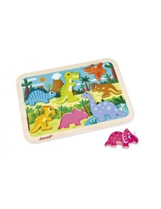 Chunky puzzle dinosaures -...