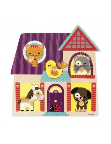 Puzzle musical mes petits compagnons...