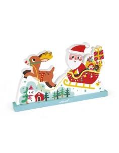 Puzzle magnétique Père Noël...