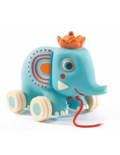 Zephir l'éléphant jouet à tirer