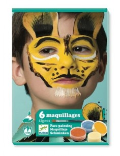 Coffret de maquillage tigre