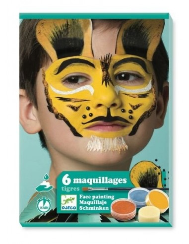 Coffret de maquillage tigre - Djeco
