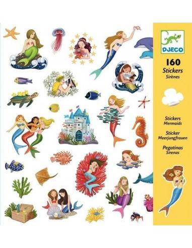 Stickers Les sirènes - Djeco