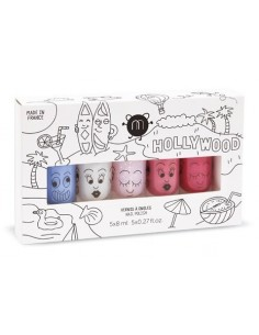 Coffret 5 vernis HOLLYWOOD