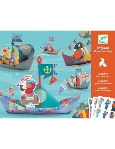 Origami bateaux sur l'eau - Djeco