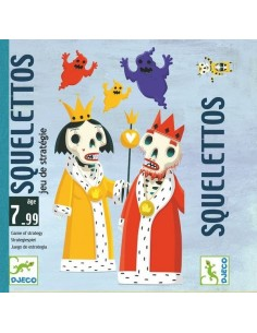 Jeu de carte Squelettos -...