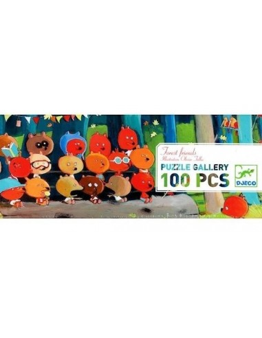 Puzzle gallery Forest friends 100...