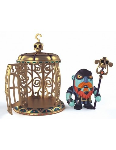 Figurine Gnomus & Ze cage pirate arty...