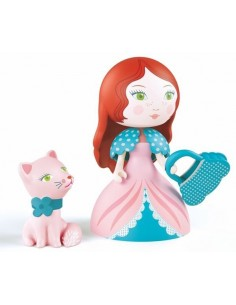 Rosa & Cat figurines Arty...