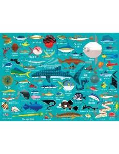 Puzzle Ocean life 1000 pièces