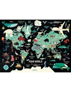 Puzzle Your world 1000 pièces