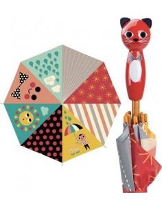 Parapluie chat Ingela Arrhenius