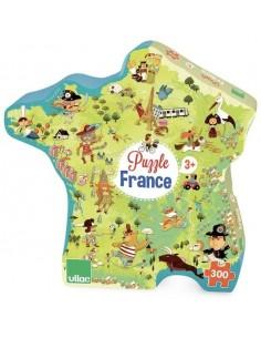 Puzzle carte de France 300...