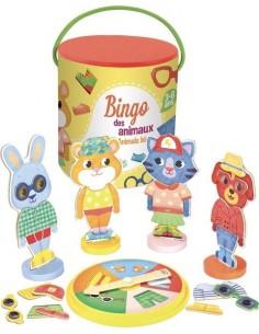 Bingo des animaux - Vilac